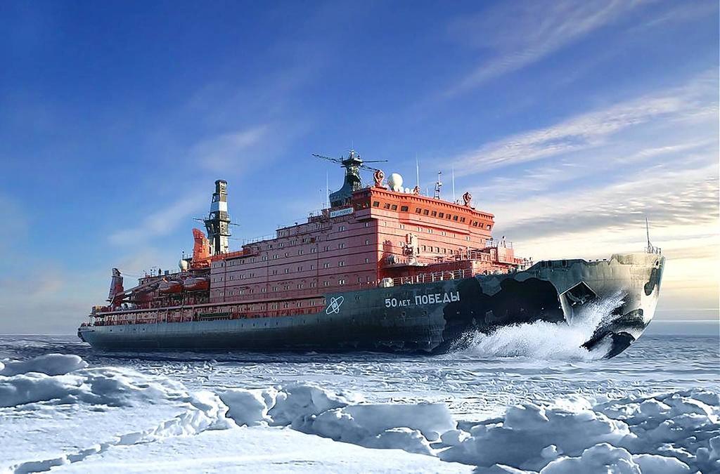 Выросла популярность круизов к Северному полюсу на атомном ледоколе