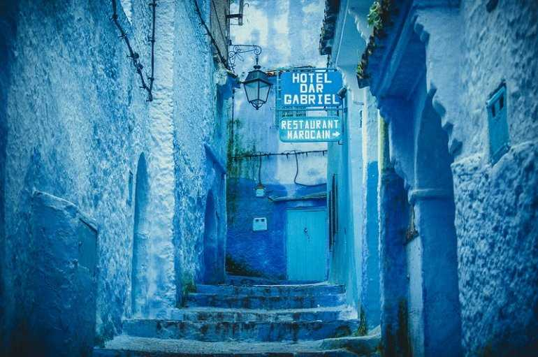 Магия Марокко. Голубой город Чефчауэн