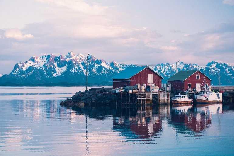 Прекрасный способ познакомиться с Норвегией: Лофотенские острова
