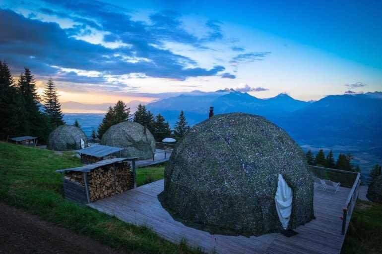 Whitepod - Эколагерь в Альпах