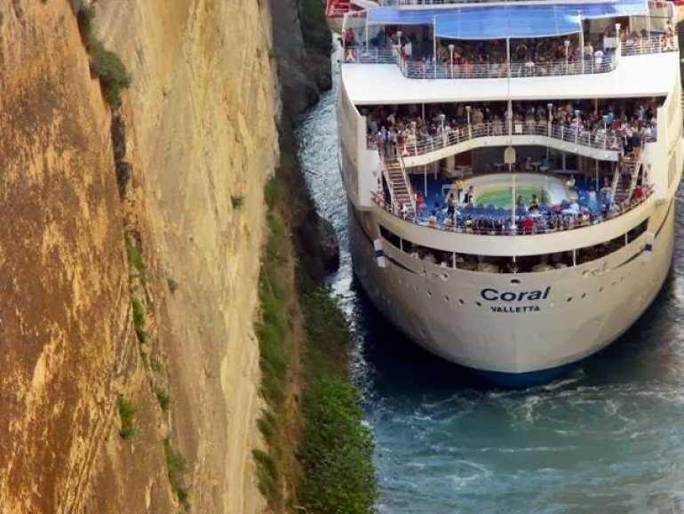 Чудеса рядом: Коринфский канал