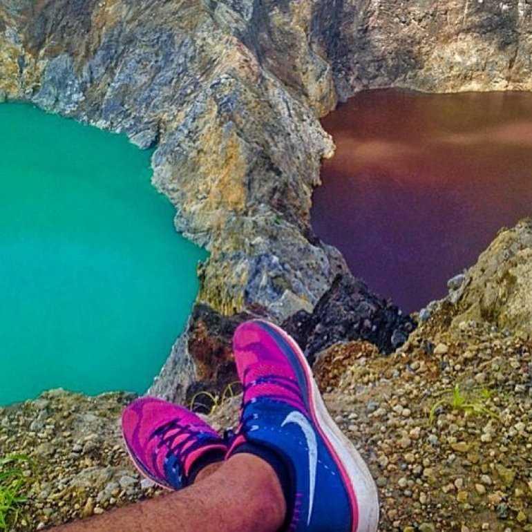 Чем знамениты озера Келимуту