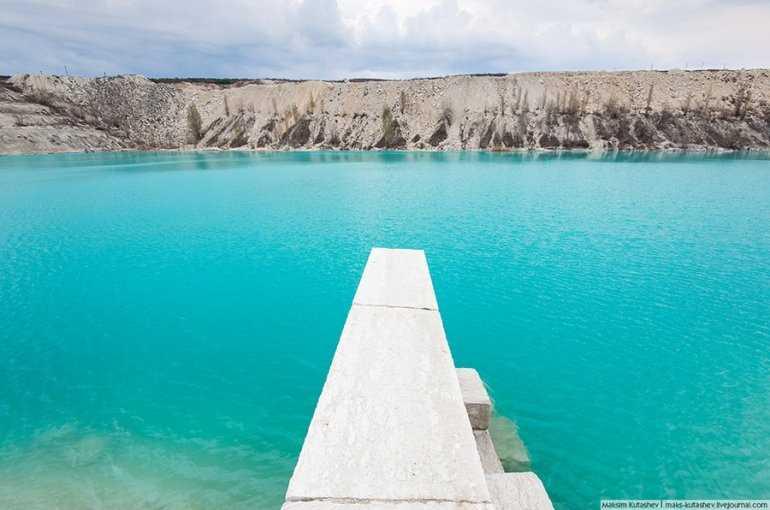 Дикая красота мраморного озера