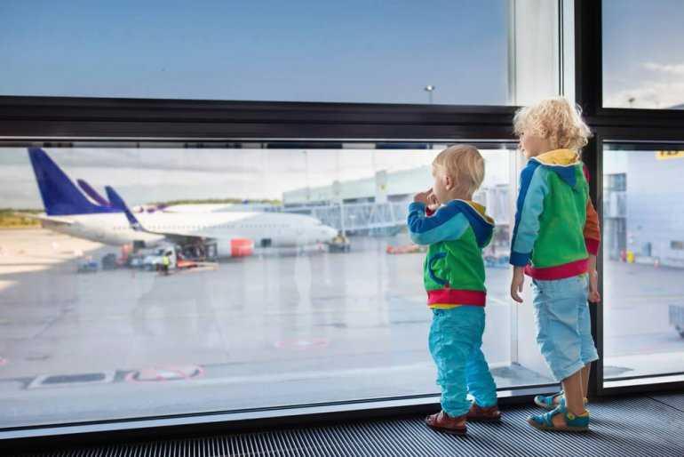 Дети в самолете: Какой самолет выбрать?