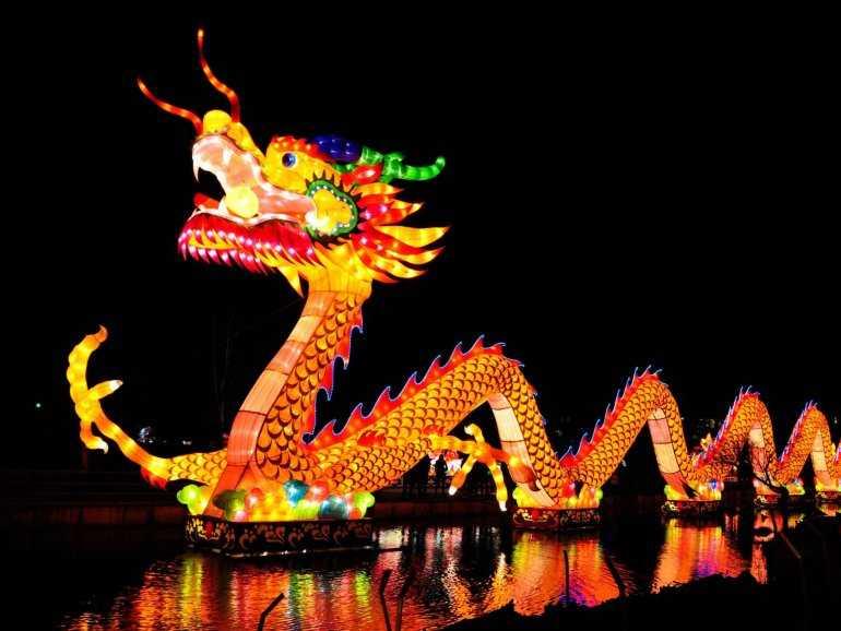Новая идея: - Встречаем новый год в Азии