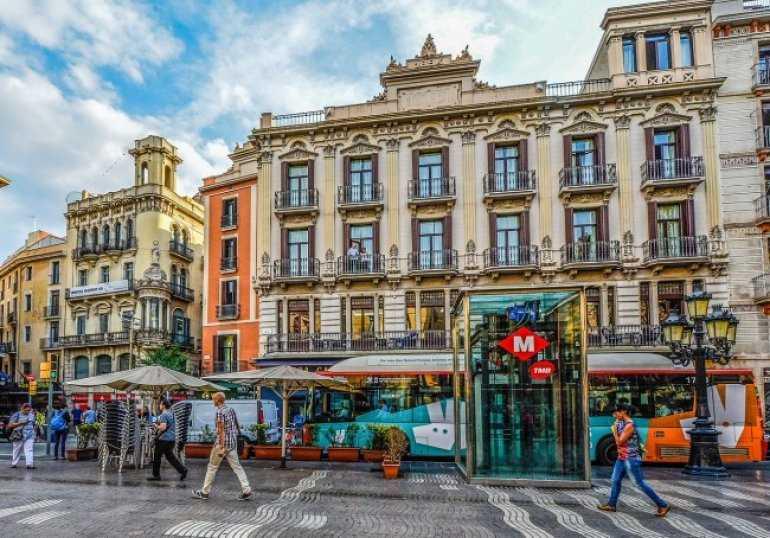 Неспешные прогулки по Барселоне
