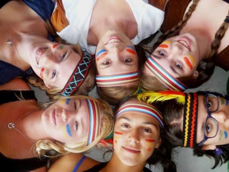Языковой лагерь глазами детей