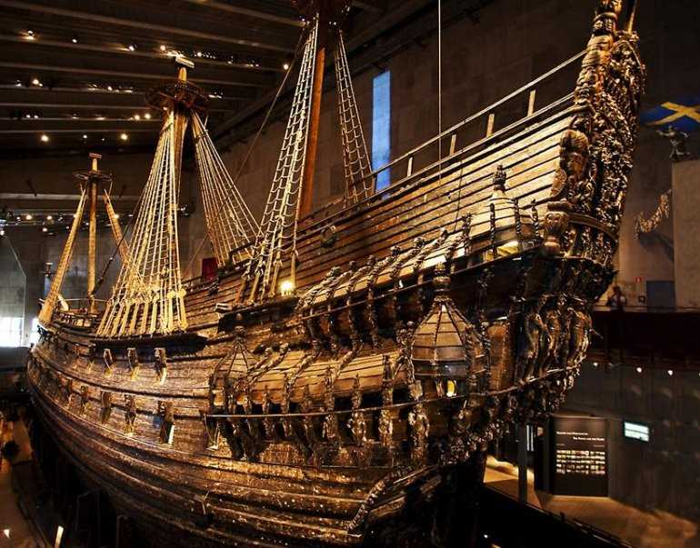 Корабль Васа – знаменитые тайны и факты