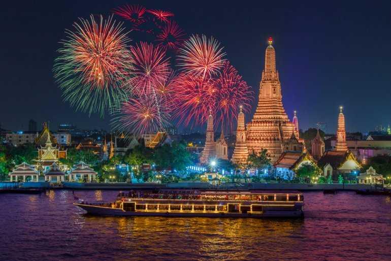 Как отмечают праздники в Тайланде