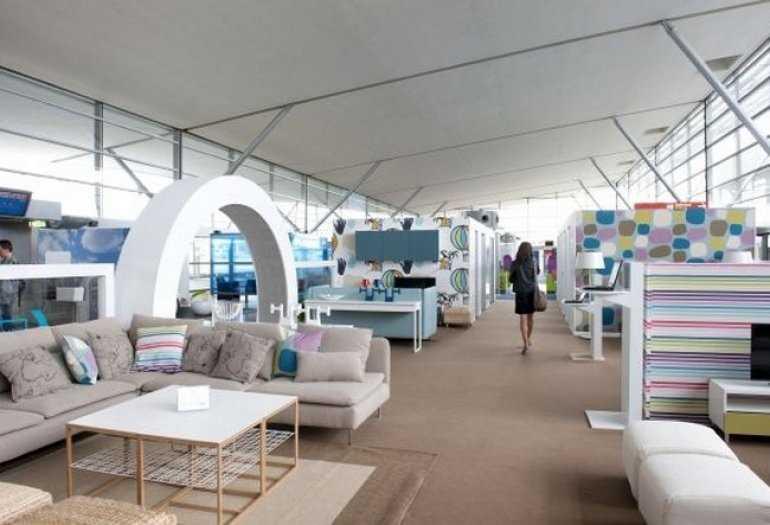 Идеальное решение для перелета – зал отдыха от ИКЕА в парижском аэропорту