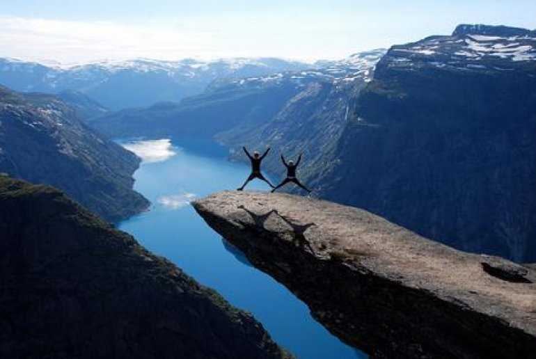 Хватит ли у вас смелости, посетить норвежские фьорды?