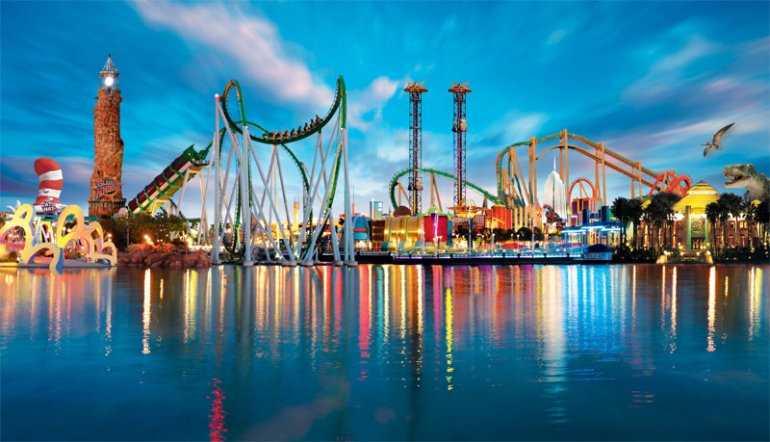Магия путешествия по парку «порт Авентура»