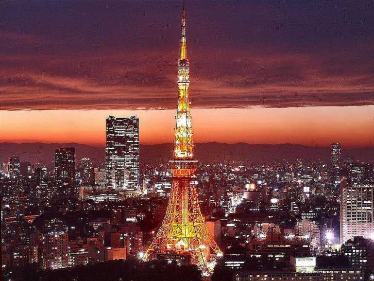 Коротко о рекорде на Токийской телебашне