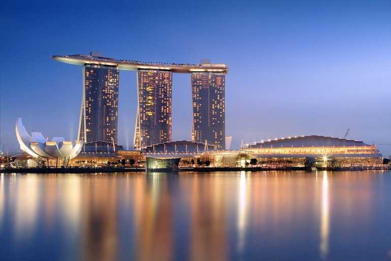 Тот самый отель: Marina Bay Sands