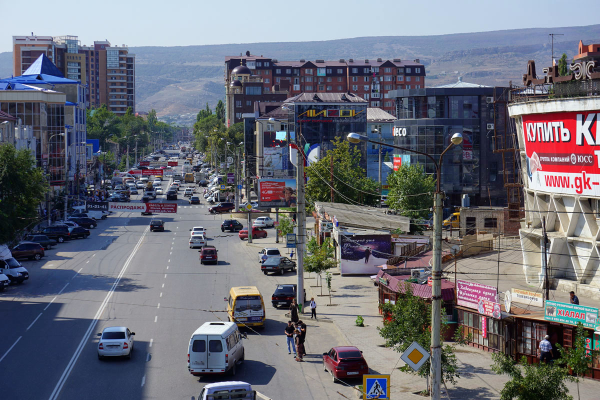 Едем на Кавказ