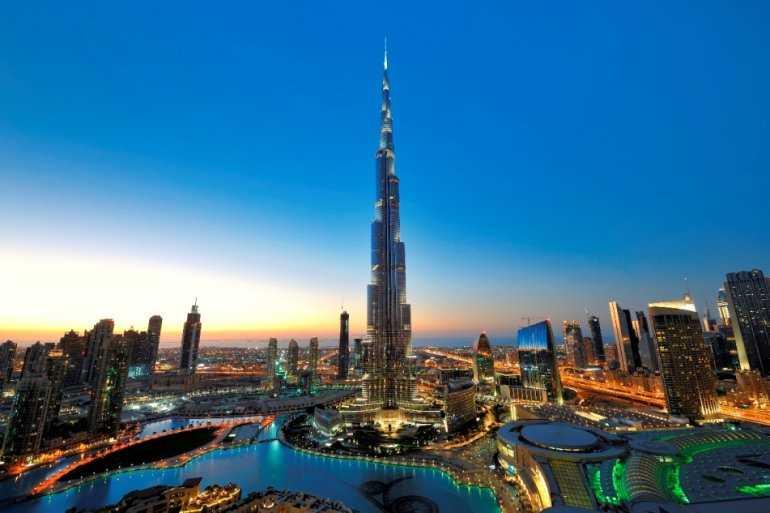 Город Дубаи - восточная сказка наяву