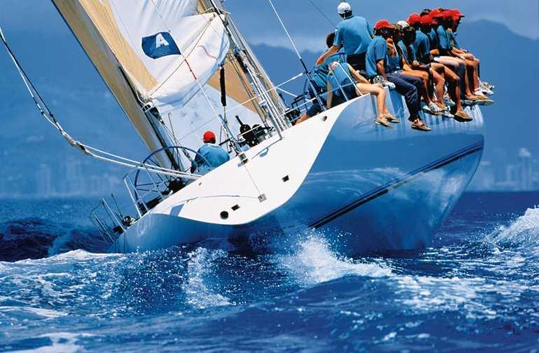 На крыльях свободы - яхтинг