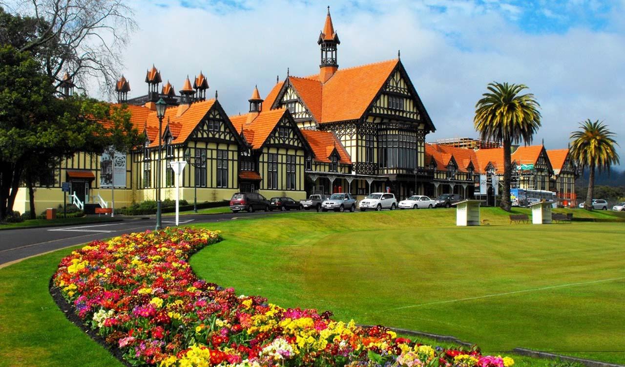 Открой для себя город Роторуа в Новой Зеландии