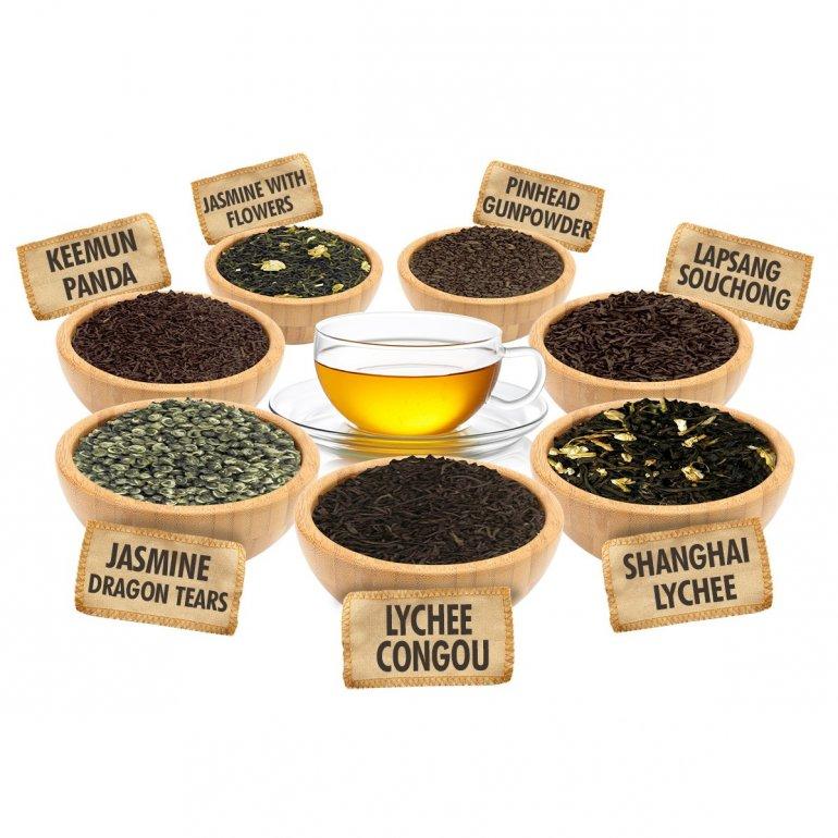 Китайский чай богатство выбора