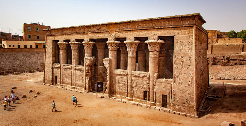 Храм бога Хнума