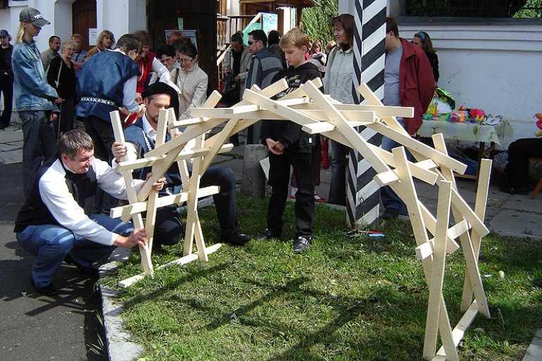 Гениальный секрет моста по эскизам да Винчи