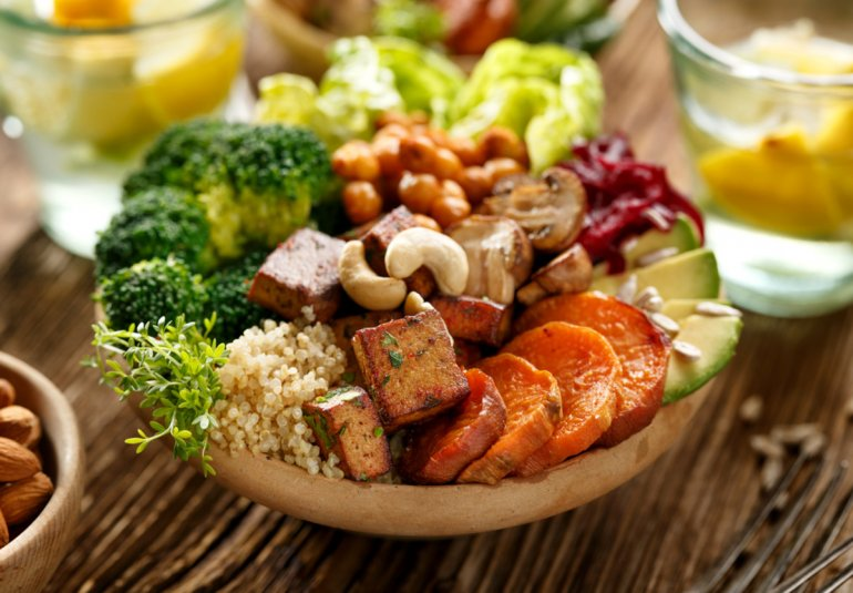 Об овощных диетах