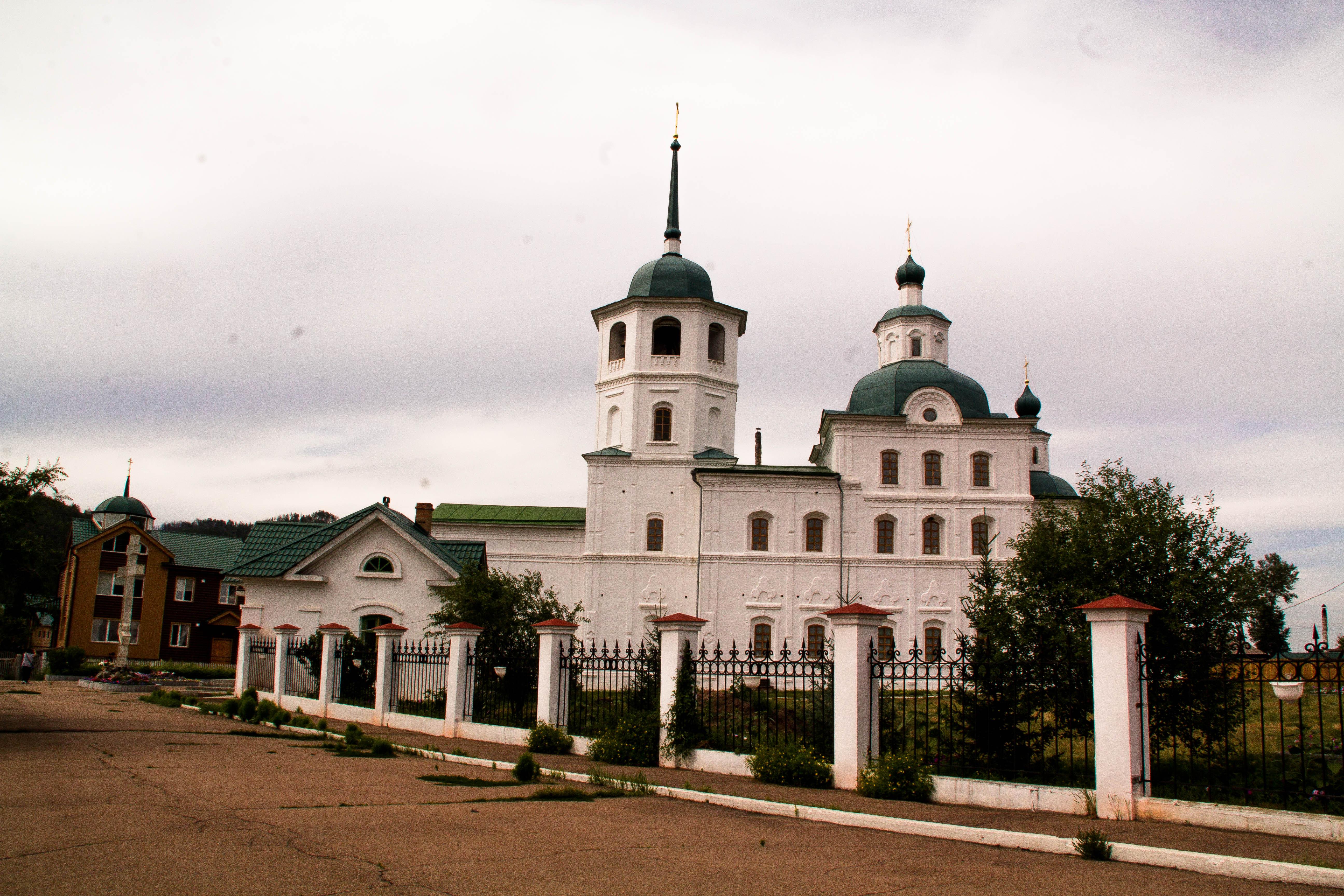 Сретенский женский монастырь. Батурино Прибайкальский район