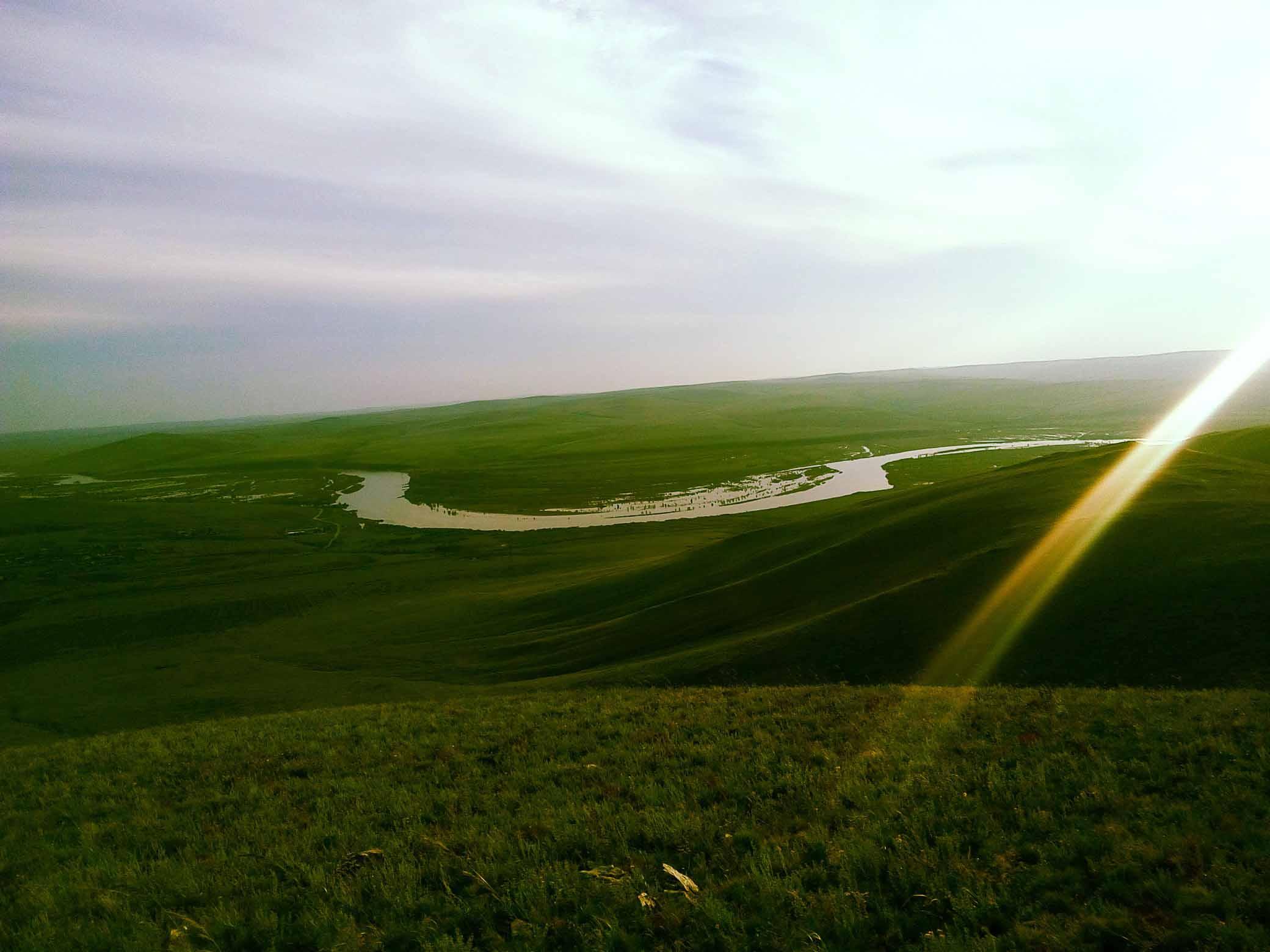 Река Онон. Забайкалье