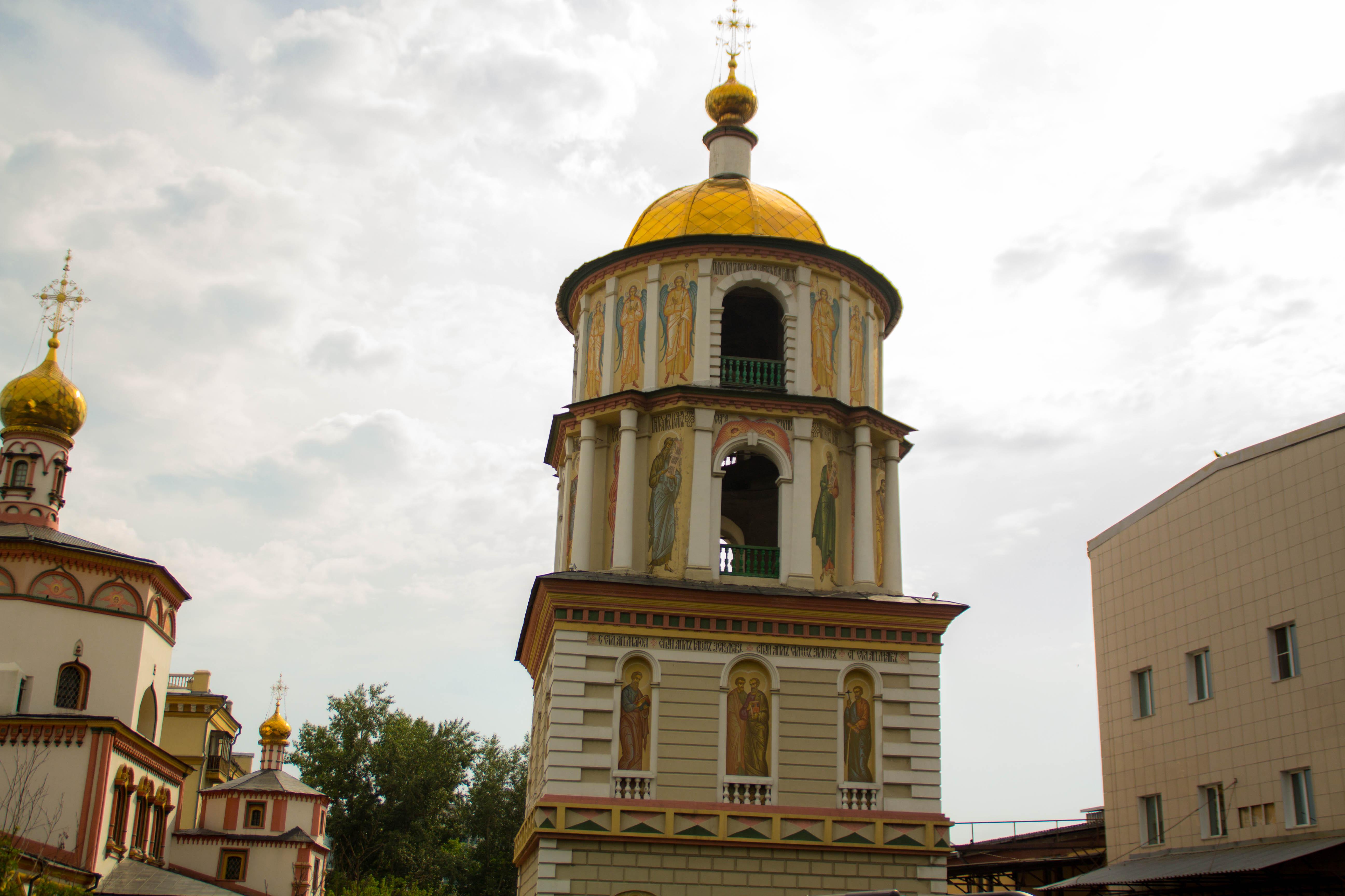Храм в Баргузине