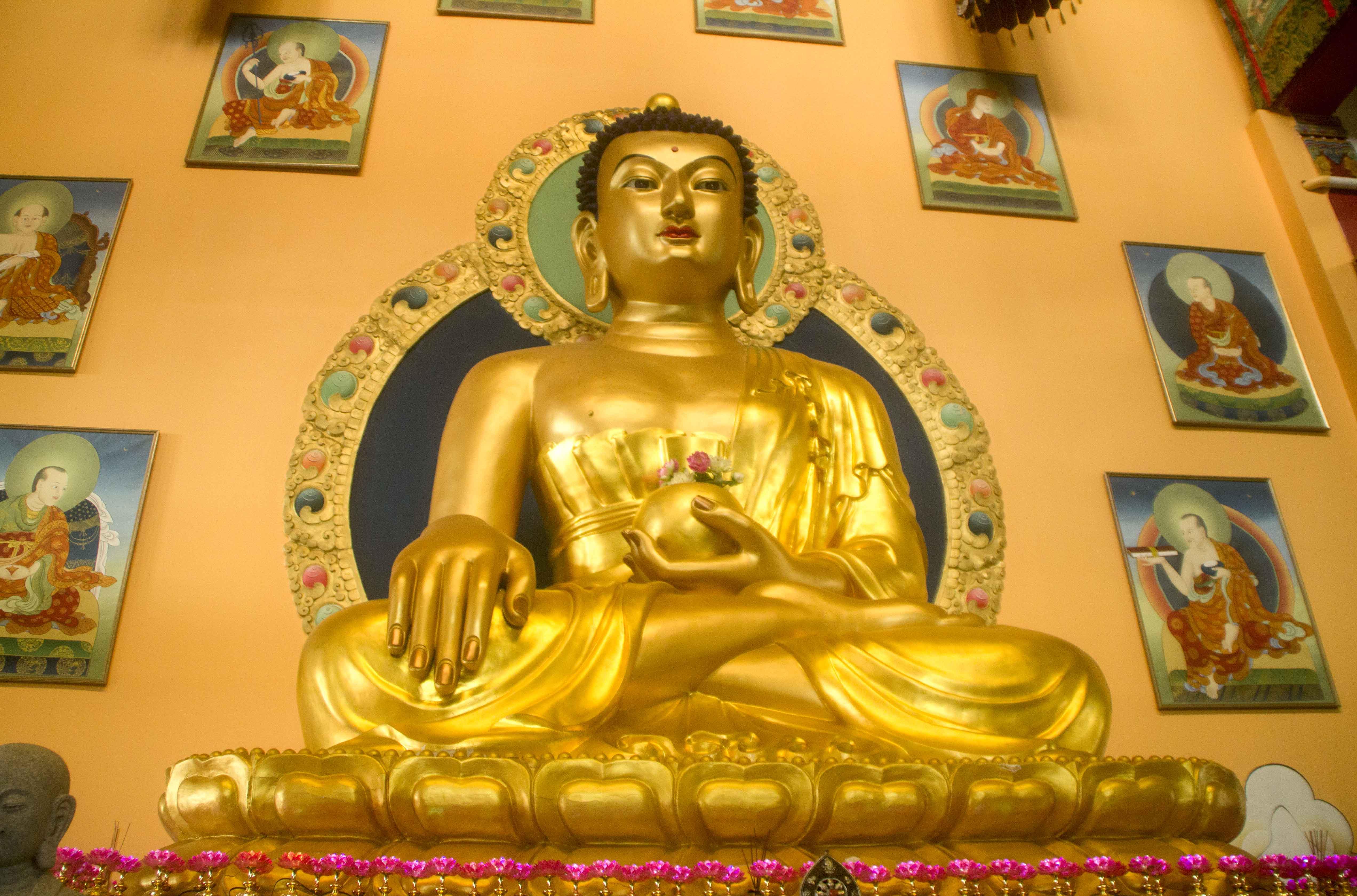 Будда дацана на Лысой Горе. Улан - Уде