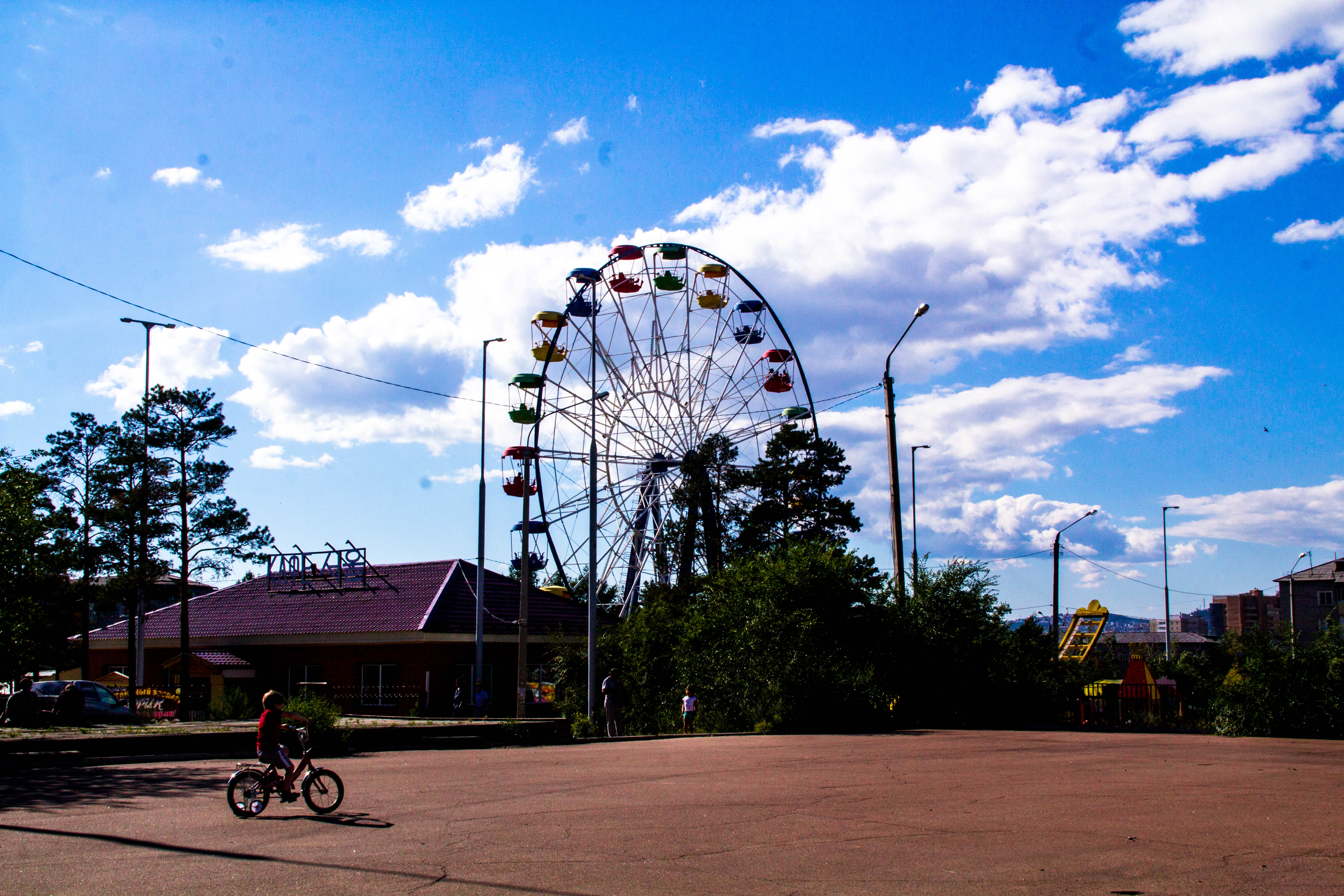 Парк в Улан-Уде
