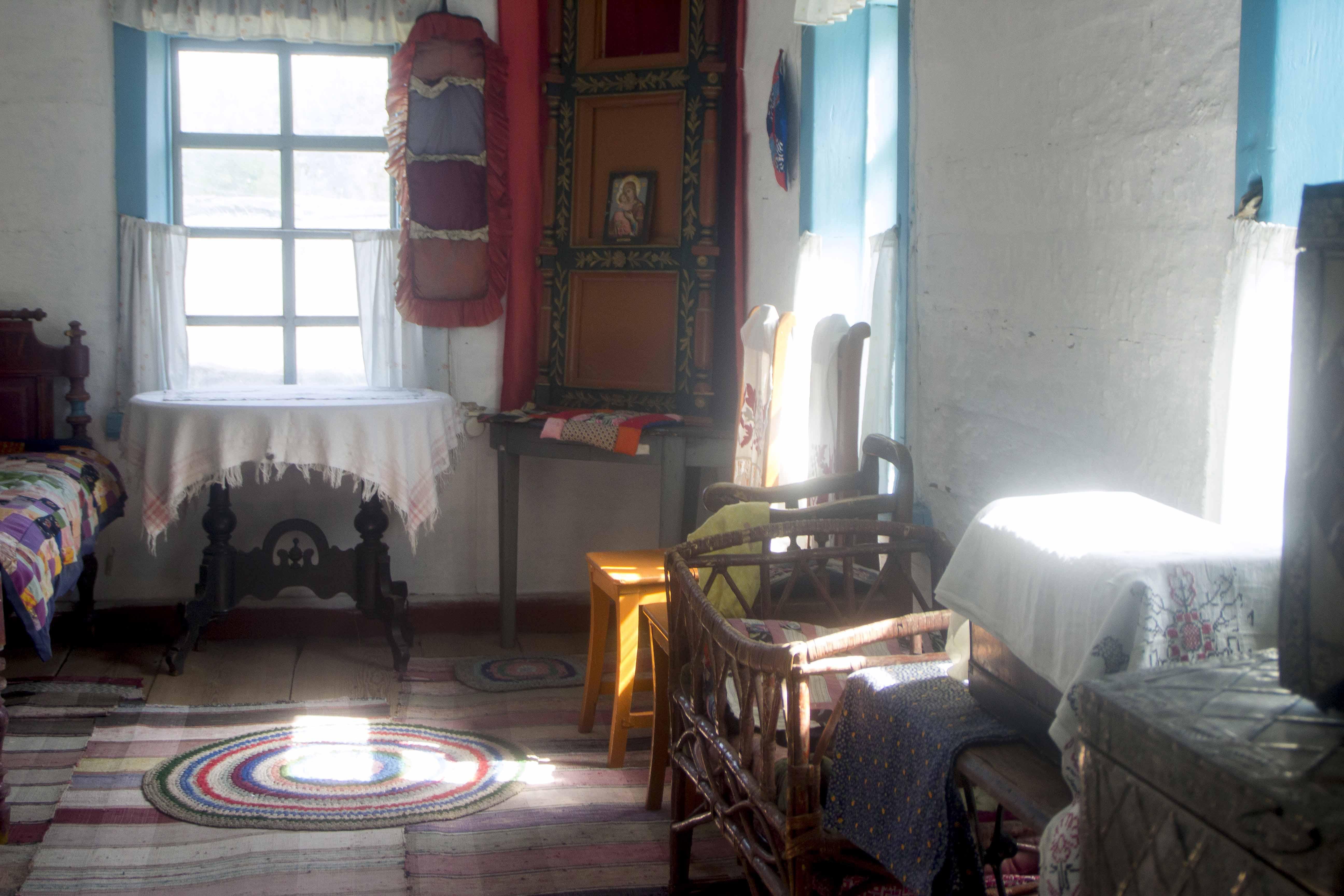 Убранство старинной казачьей квартиры