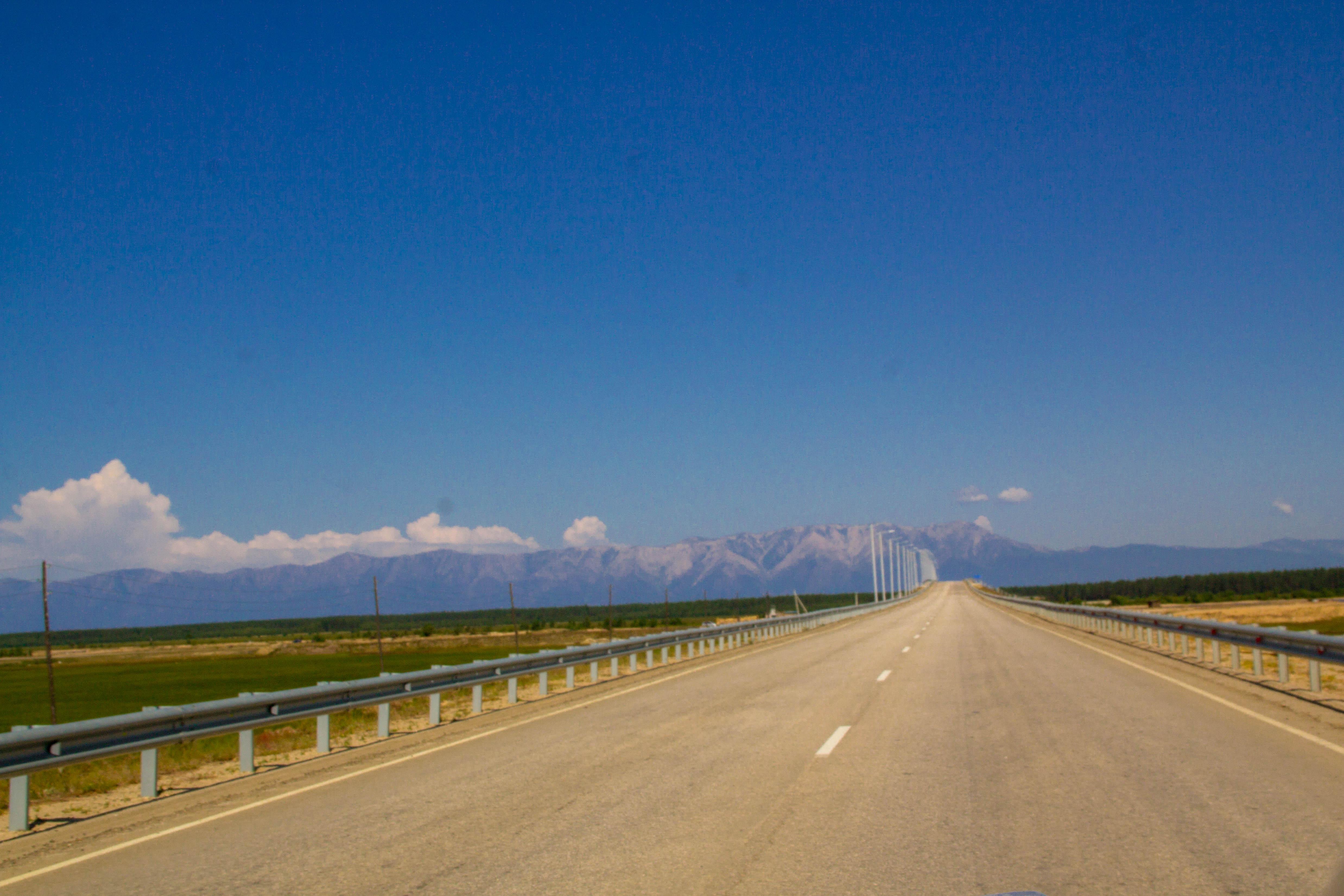 Дорога на Курумкан