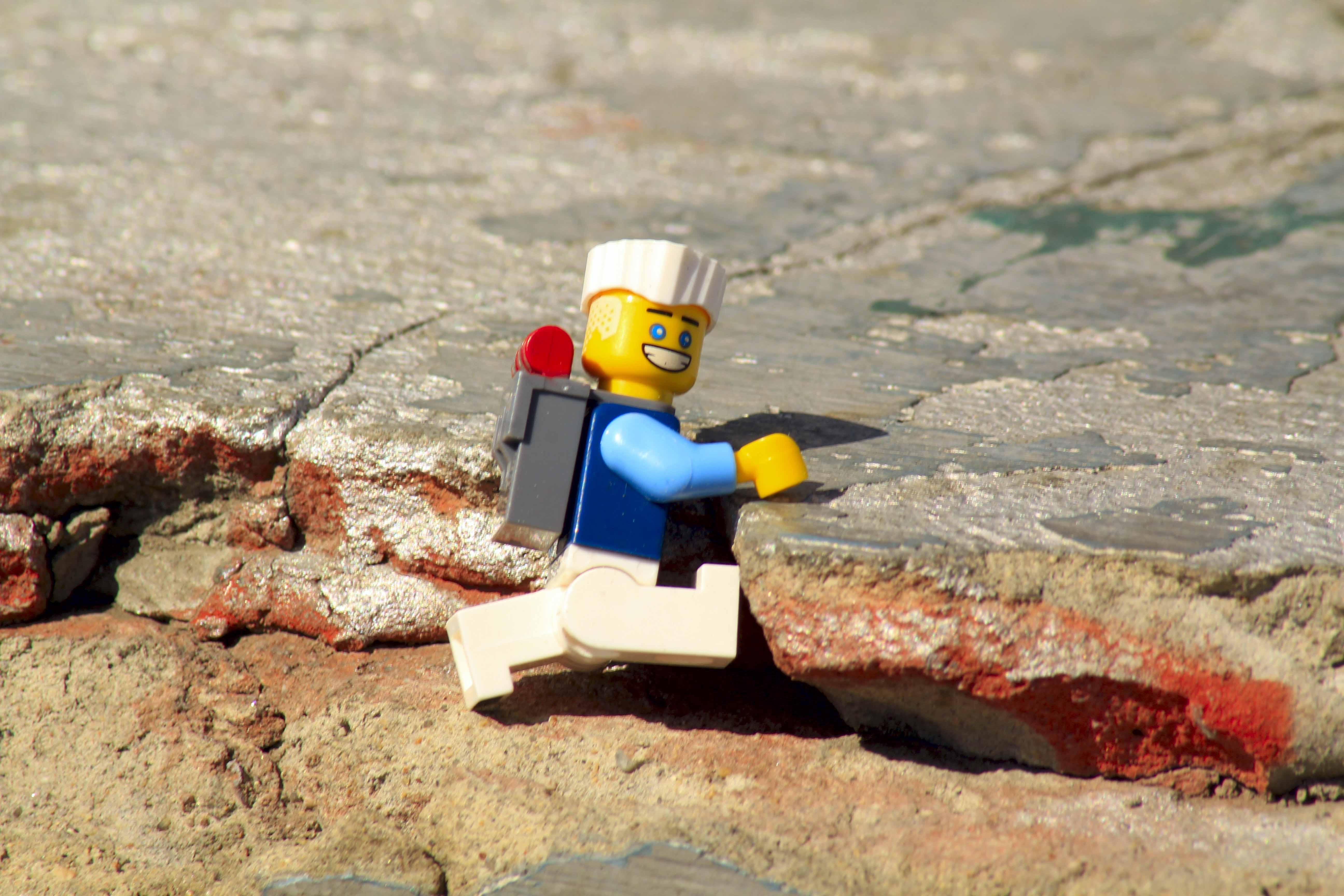 Лего - турист