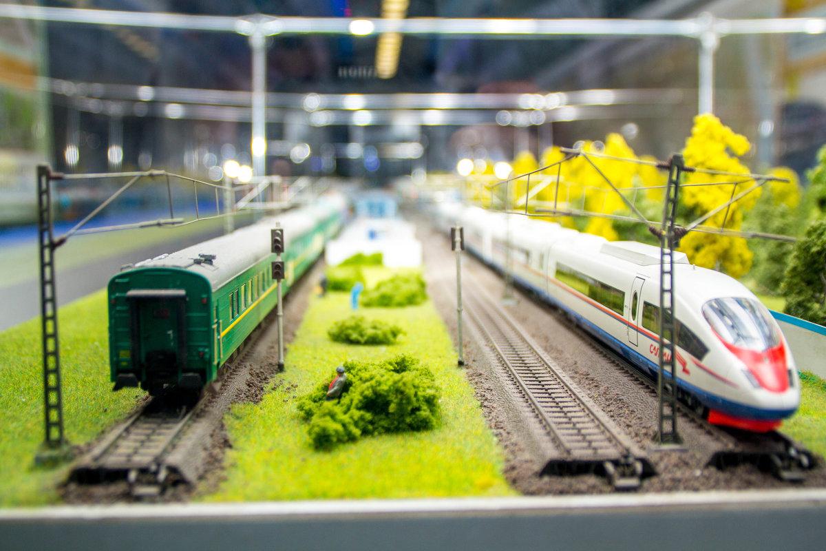 Миниатюра поездов